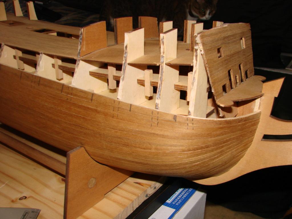HMS Victory Constructo Echelle 1:94 Dsc06913