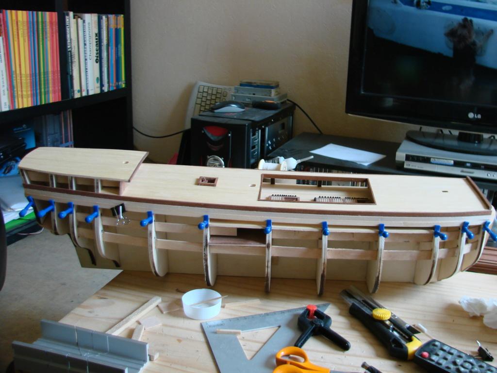 HMS Victory Constructo Echelle 1:94 Dsc07014