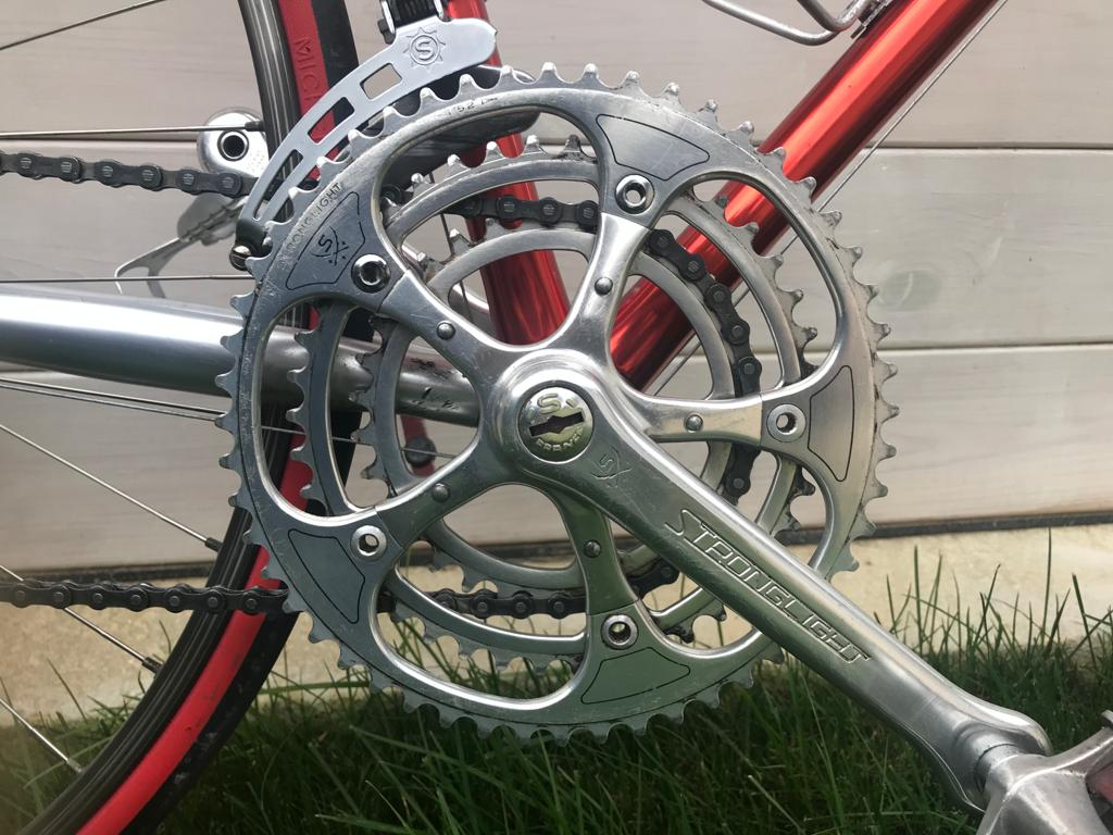 Des vélos, mais aussi des histoires... Cadre collé Vitus 979 -  80's 35d86211
