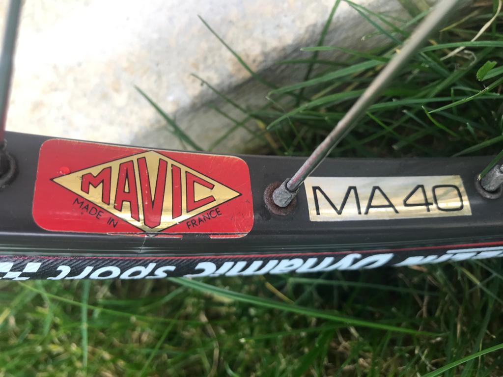 Des vélos, mais aussi des histoires... Cadre collé Vitus 979 -  80's 89c94210