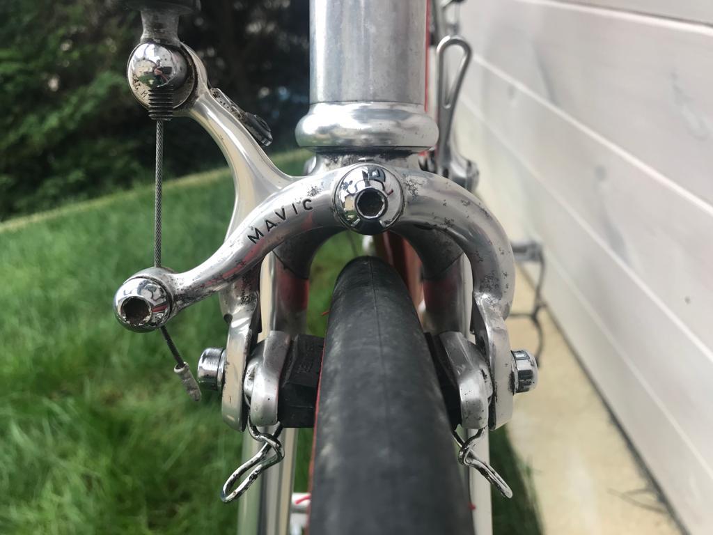 Des vélos, mais aussi des histoires... Cadre collé Vitus 979 -  80's A85b8110