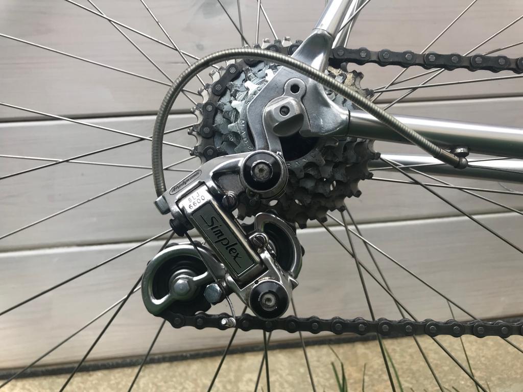 Des vélos, mais aussi des histoires... Cadre collé Vitus 979 -  80's Bd692711