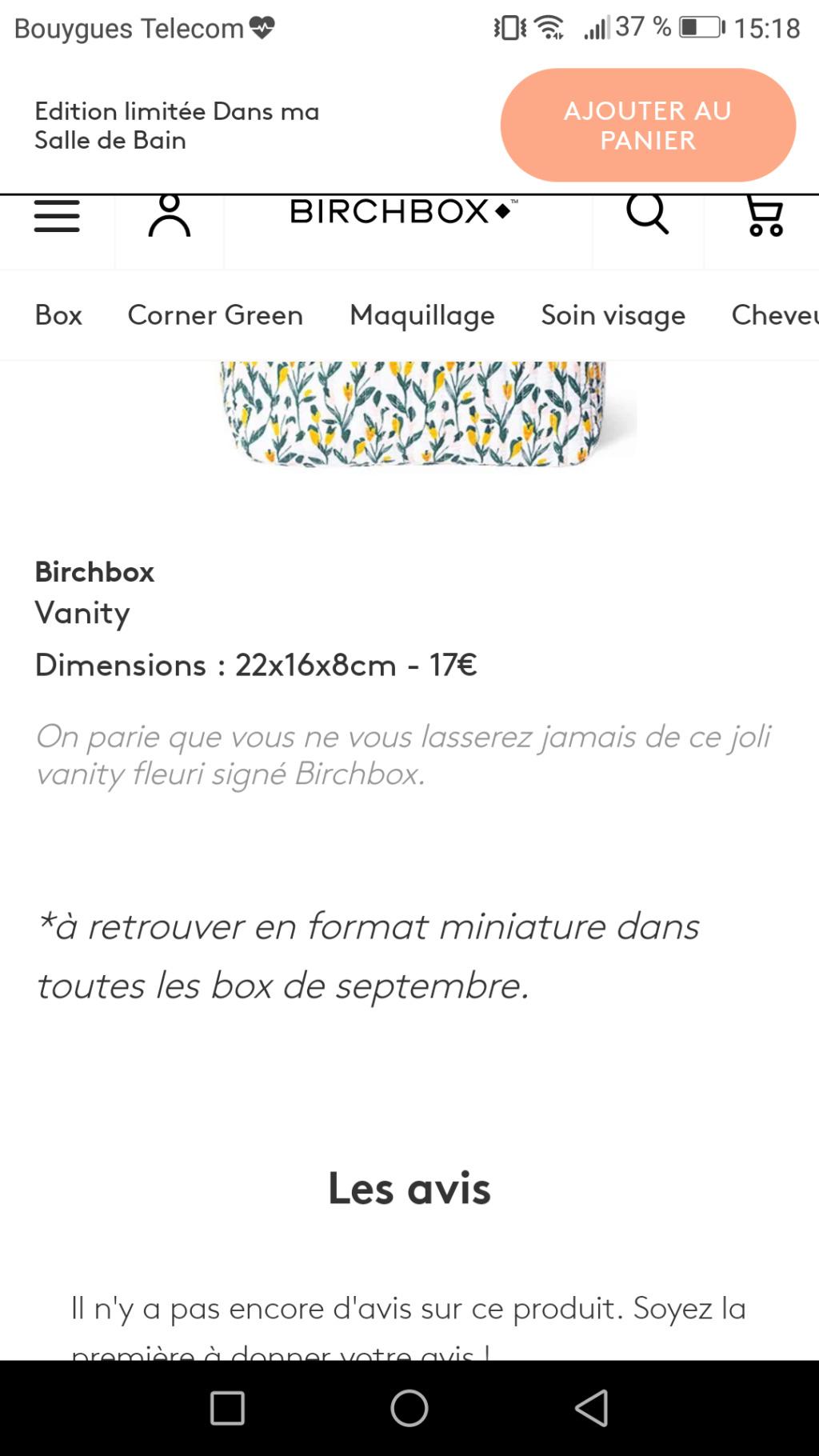 [Septembre 2019] Birchbox Screen13