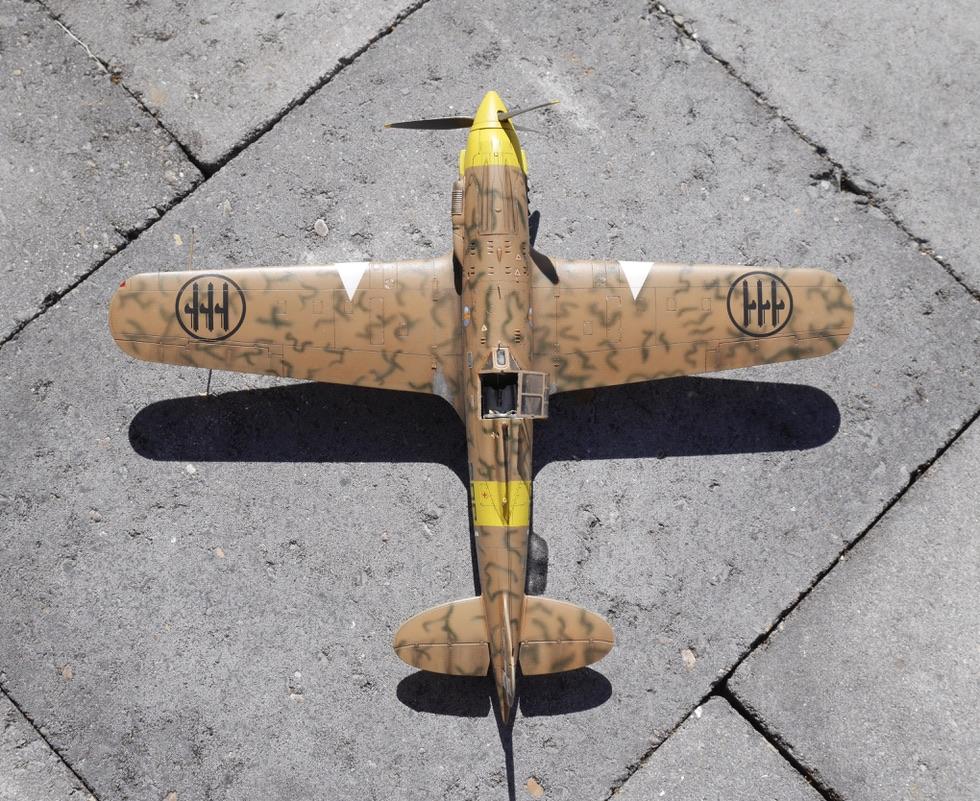 folgore - Macchi C.202 Folgore - 21° Gruppo Autonomo C.T. 161a1210