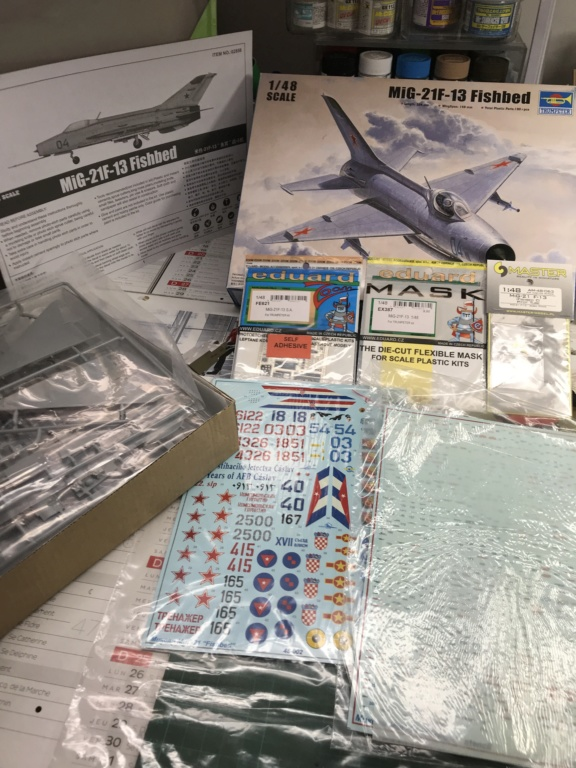 """fishbed - MiG-21F-13 """"Fishbed-C"""" - Trumpeter - 1/48 Img_5010"""
