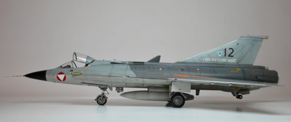 draken - Saab J 35Ö Mk.II Draken - Österreichische Luftstreitkräfte Fliegerregiment 2, 1. Staffel P1030213