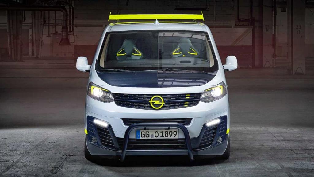 Cargar una estantería de 1,90 Opel-z11