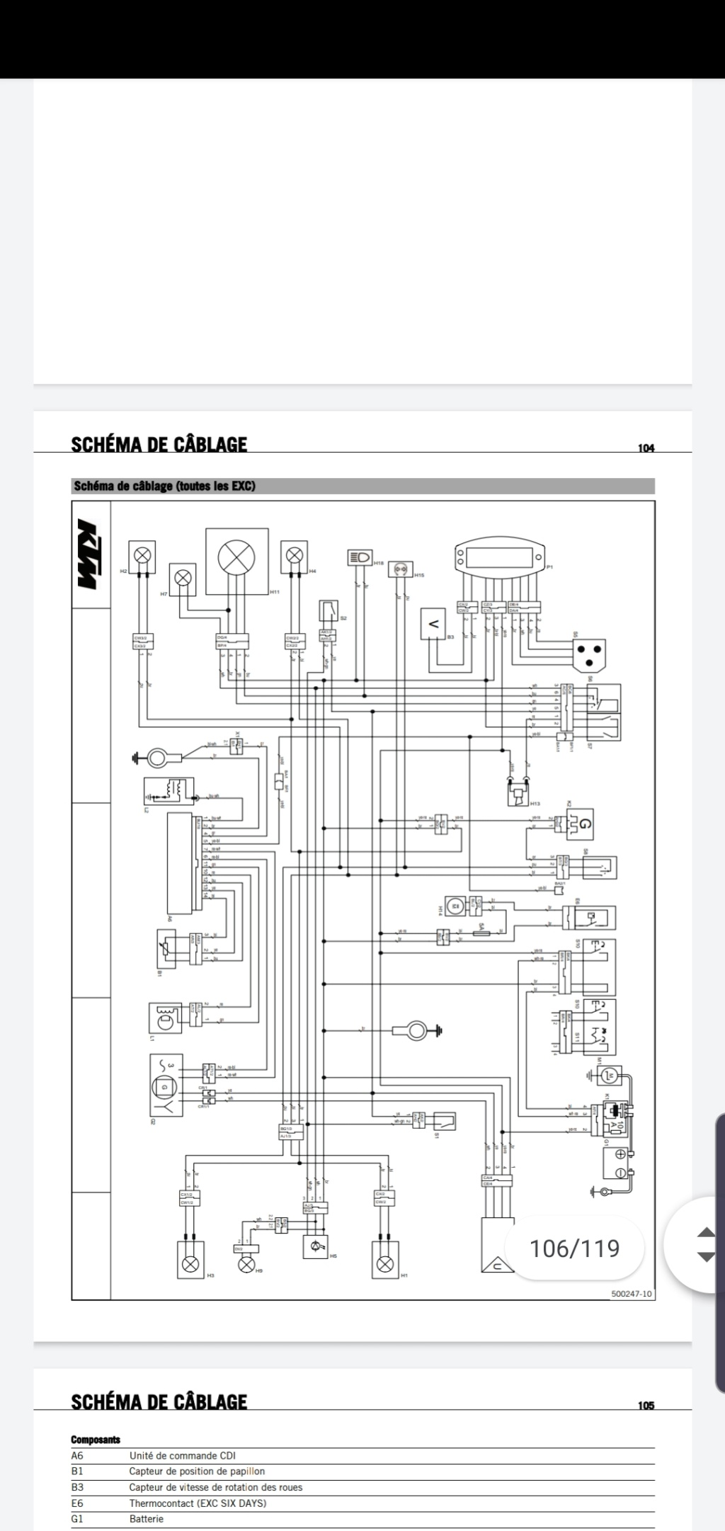 Probleme électrique 450 exc 2009 Screen11