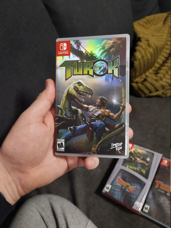 [VDS] Double pack Limited Run Turok Switch Img_2031
