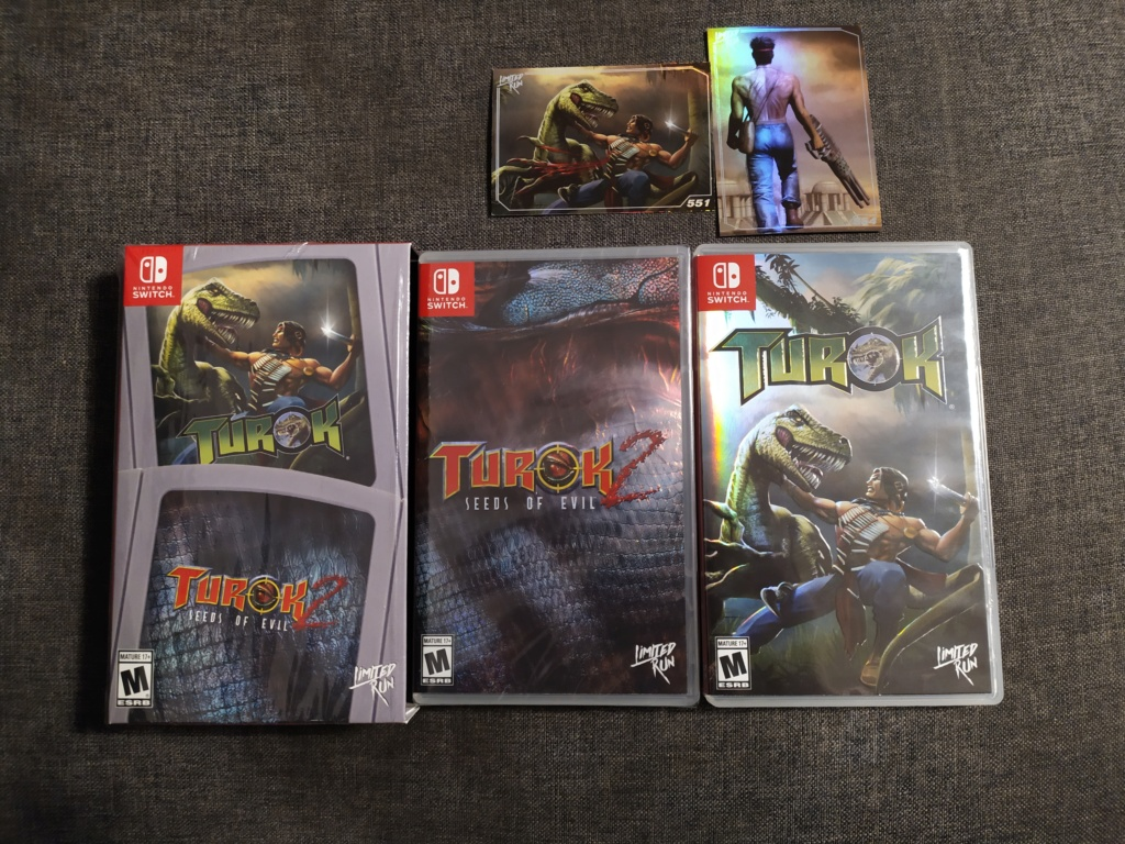 [VDS] Double pack Limited Run Turok Switch Img_2033