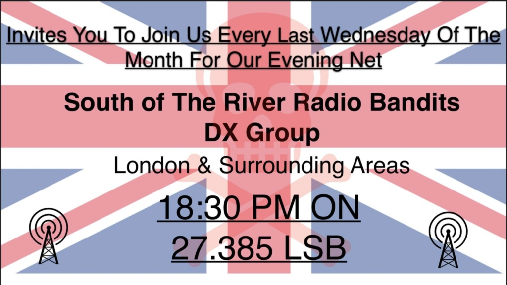 South of the River Radio Bandits DX Group Screen13