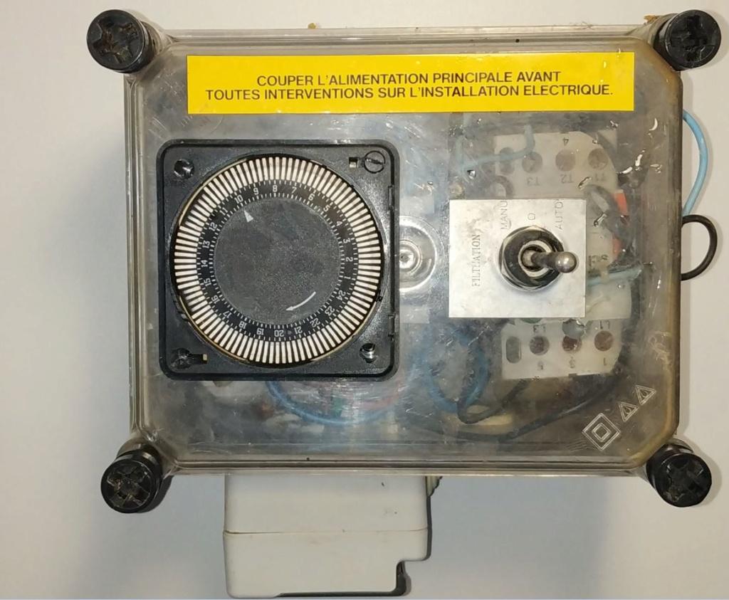 Changer le coffret electrique Escawat Coffre10