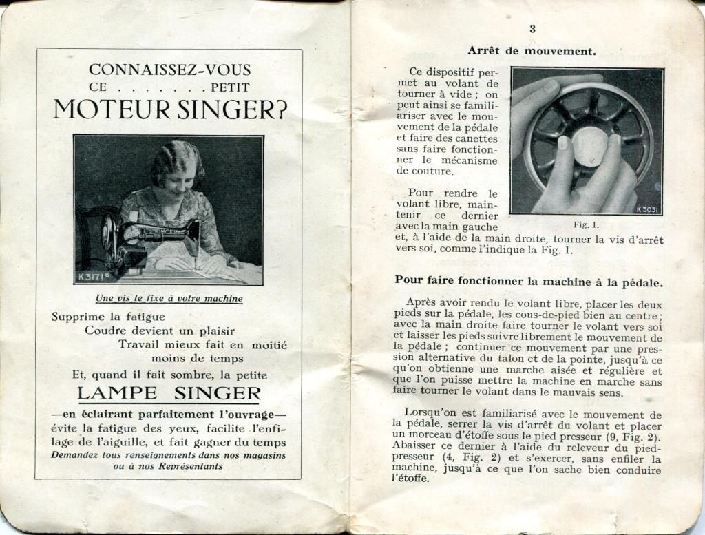 Notice Singer 15K88 15k88013