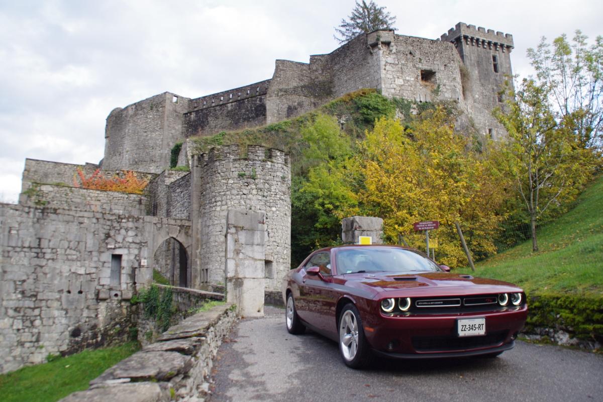 Château Fort de Miolans / Massif des Bauges (Savoie) Dodge_21