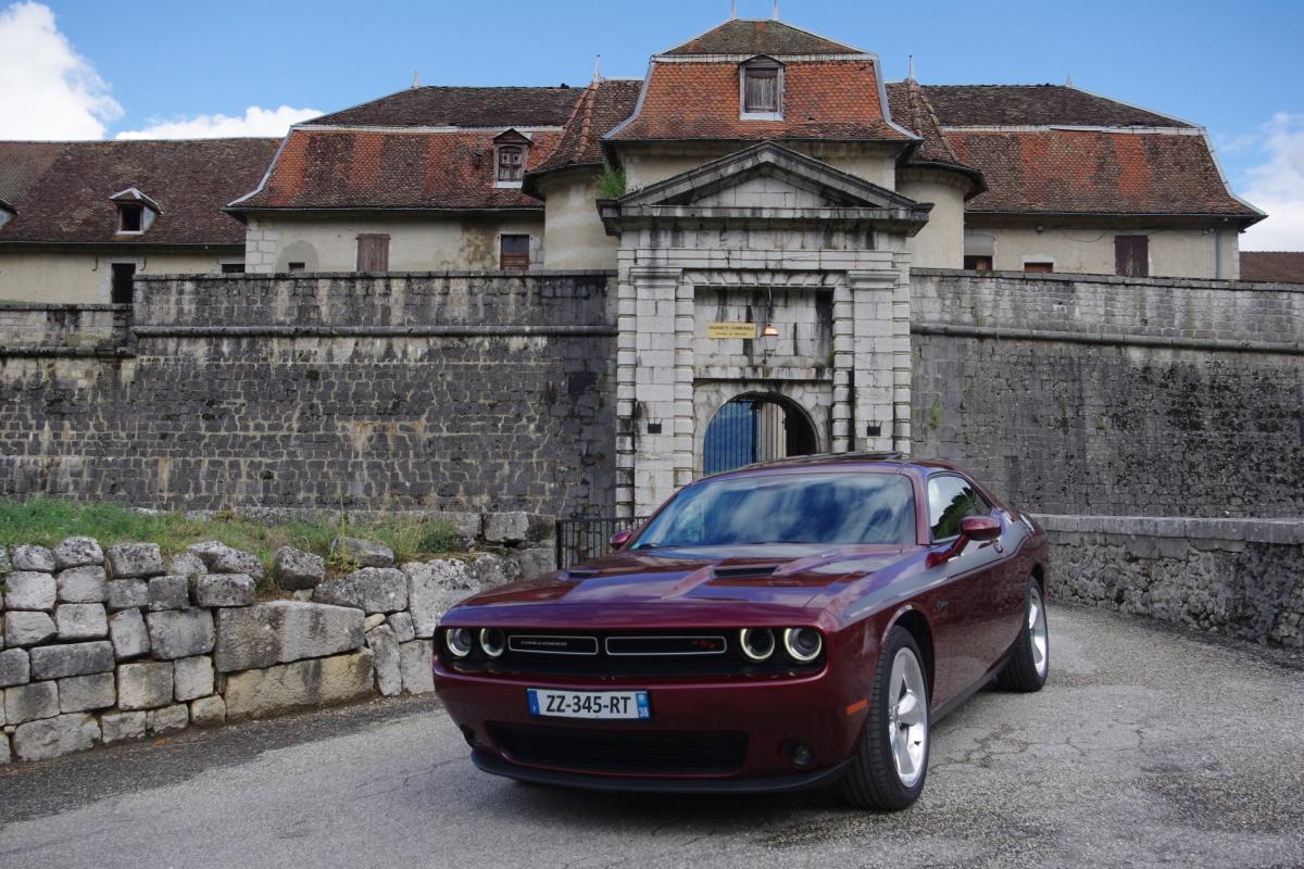 Château Fort de Miolans / Massif des Bauges (Savoie) Dodge_22