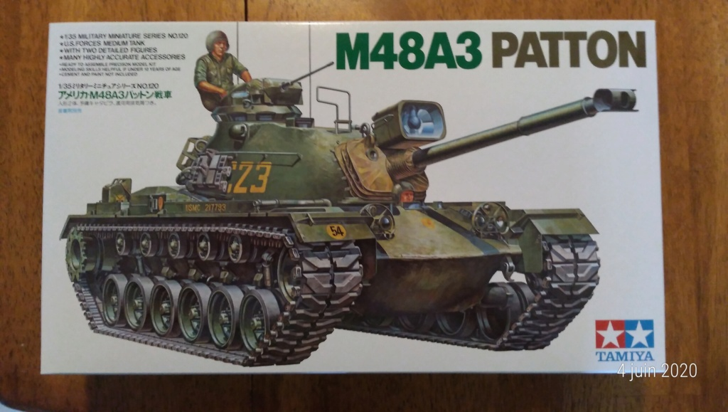 Tank M48A3 Patton 1/35 de Tamiya P_202020