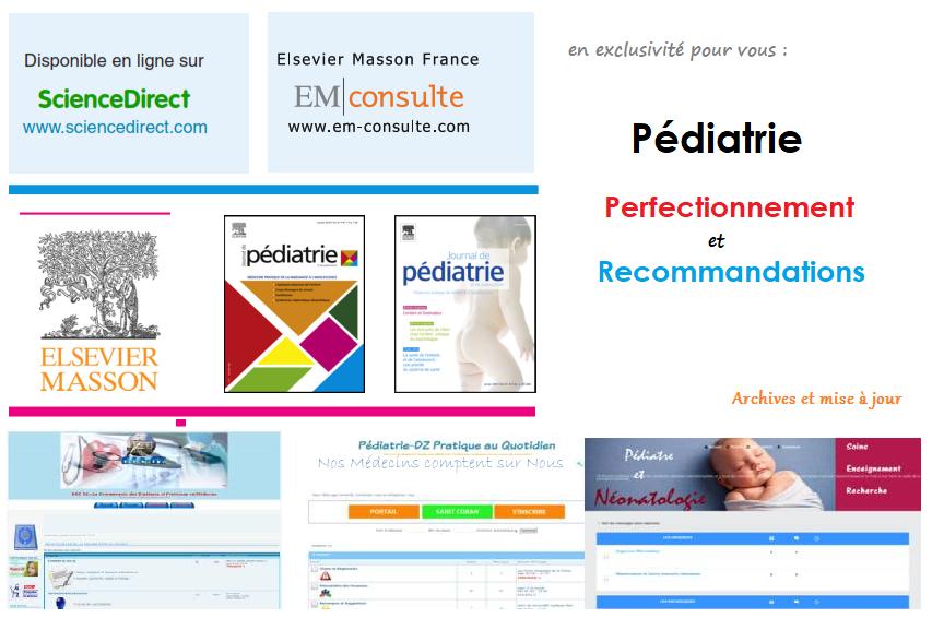 Recommandations de bonne pratique et Perfectionnement en Pediatrie en Exclusivité pour Vous Annota22