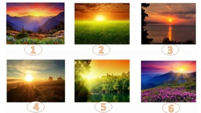 Выберите самый красивый рассвет и узнайте свое будущее 49808c10