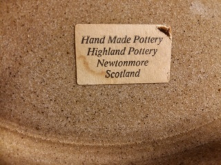 William Forrest, Highland Pottery, Newtonmore (Scotland). 20201017
