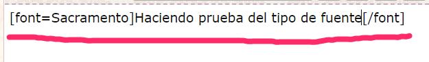 Las fonts agregadas a las fuentes del editor no funciona, las fonts se visualizan en la lista de fonts pero no se aplican al texto 2021-078