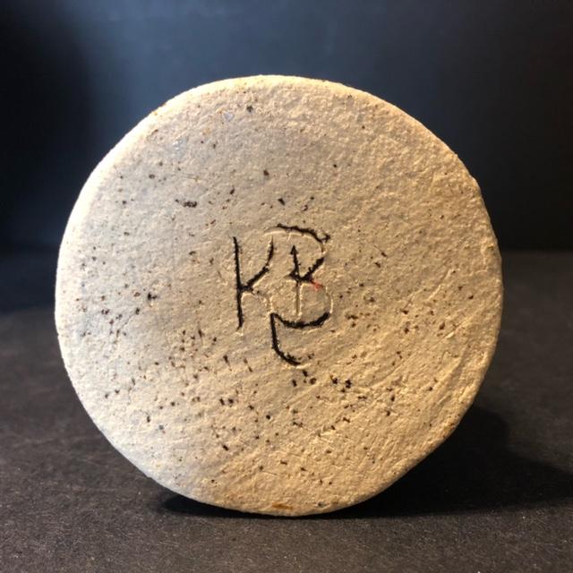 Pottery Vase - KB mark  Candle12