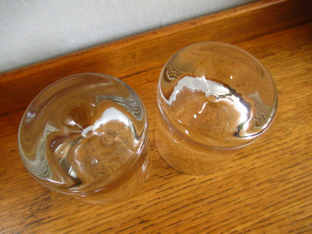 Clear Heavy Retro Whiskey Tumblers Glasses Img_1311