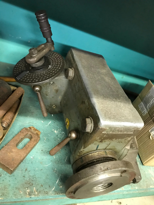 Deckel FP1 - Table rotative, poupée diviseur & accessoires  B98e5f10