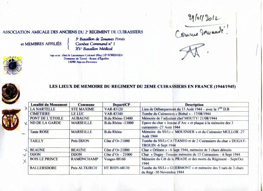 Chars et lieux de mémoire du 2e Cuirassiers 1944/45 Image010