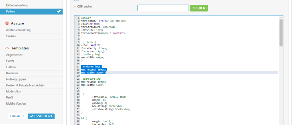 [phpBB2]Die Größe des Profilbilds lässt sich nicht mehr verändern Koppk10