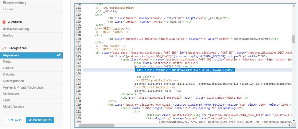 [phpBB2]Die Größe des Profilbilds lässt sich nicht mehr verändern Wijd10
