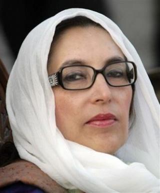 Benazir Bhutto assassinée dans un attentat Benazi11