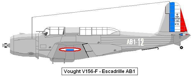 Vought V156 aéronavale Vindic10