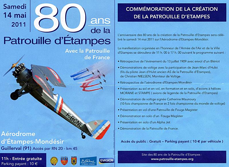 Samedi 14 Mai 2011 : 80 ans de la Patrouille d'Etampes Image310