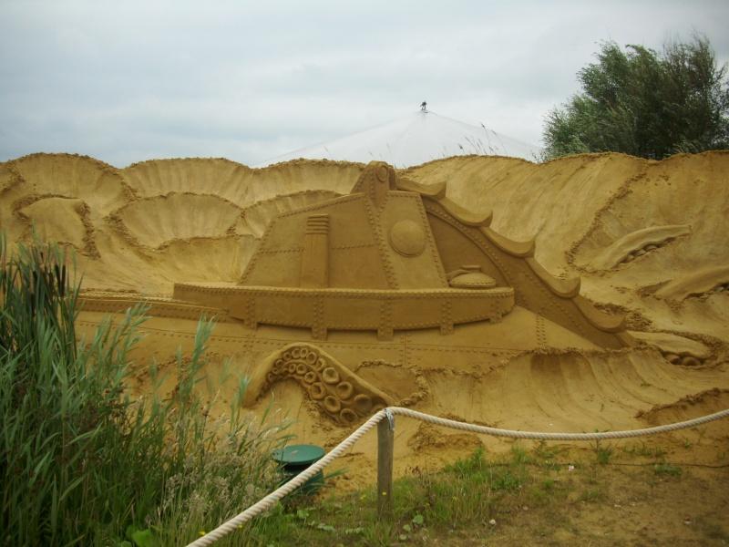 Blankenberge: Sculpture de sable Festival 2011 (belgique) - Page 3 Dsci0915