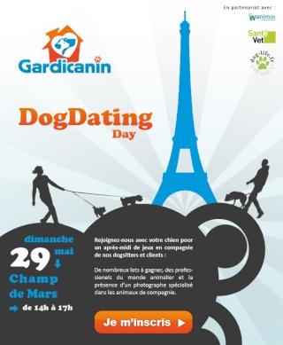 Dog Dating day sur Paris le dimanche 29 mai (champ de mars, face tour eiffel) 04221111