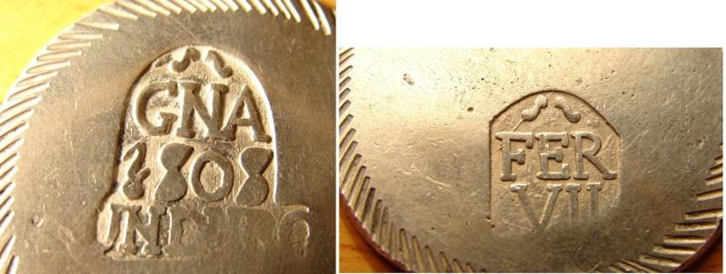 Duro de Fernando VII (Gerona, 1808 d.C) ¿Autentica? Detall10
