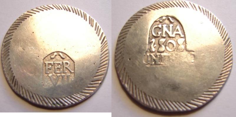 Duro de Fernando VII (Gerona, 1808 d.C) ¿Autentica? Duro10