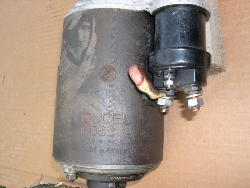 demarreur ducel 6062 a - Démarreur Ducellier 6062 A pour F&S 600 L  Dscn6018