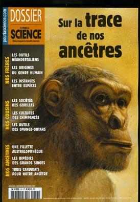 Pour la science: Sur la trace de nos ancêtres . M193010