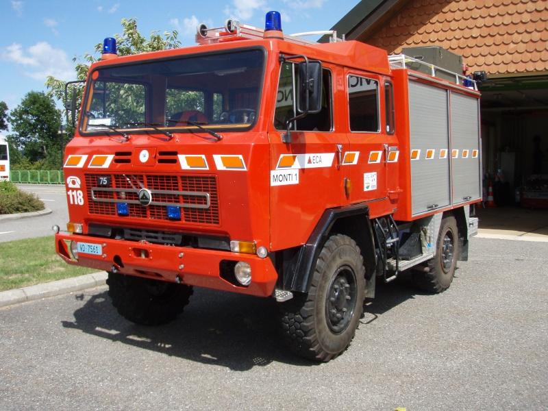 au camion pompier haute pression a biere Saurer19