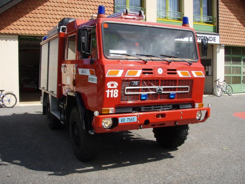 au camion pompier haute pression a biere Saurer20