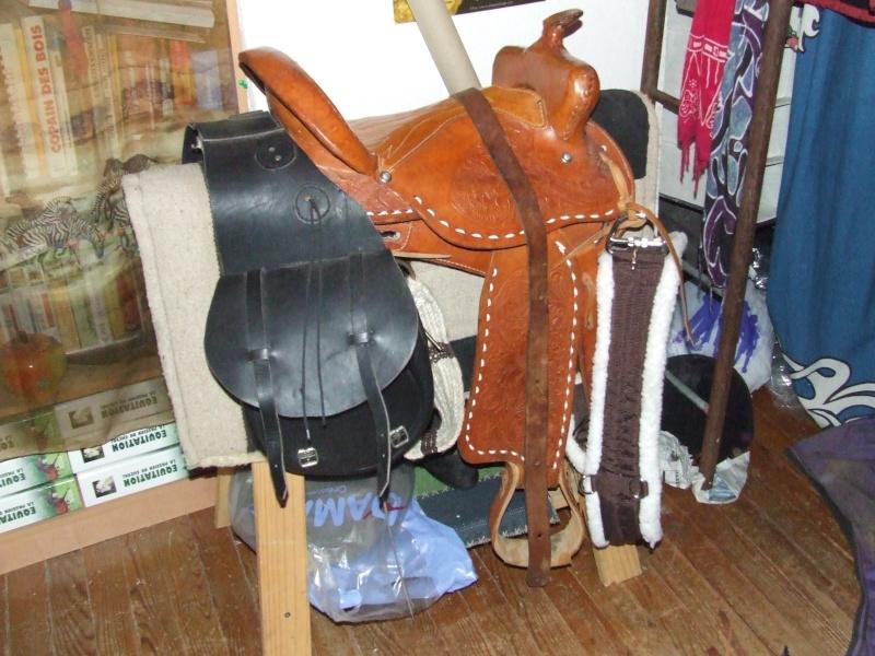 Matériel d'équitation, t.cheval, travail et repos Dscf5710