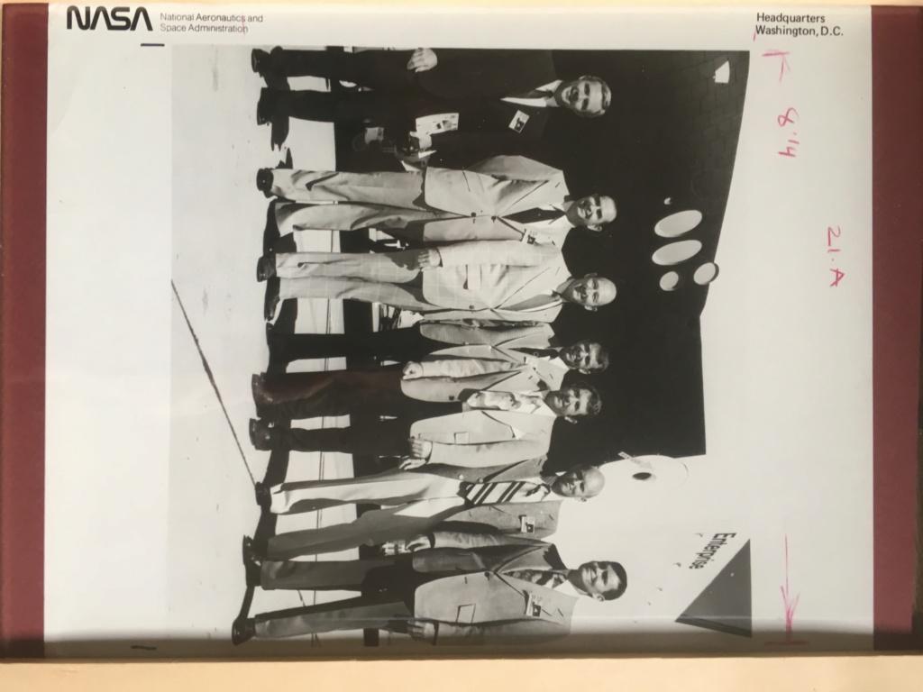 A vendre Photos N.A.S.A 1976 équipe Star Trek  3f1e5b10