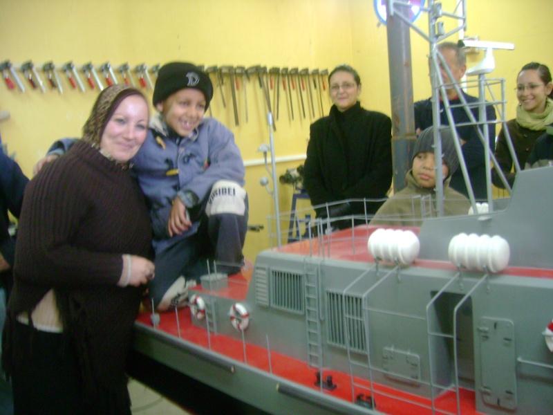Visite de L'ECRN  Base Navale de la 2eme RM Oran Photo_21