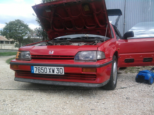 restauration honda crx as53 Photo017