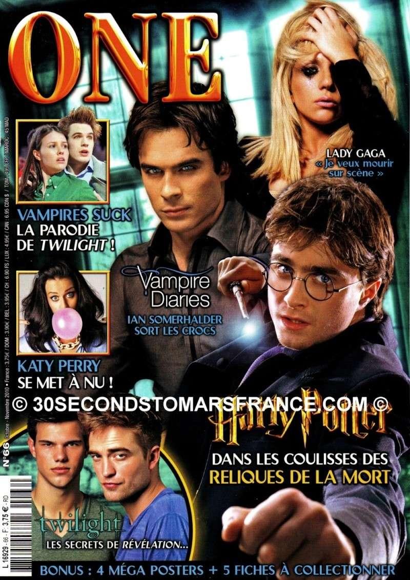One n°66 Octobre / Novembre 2010 One_na10