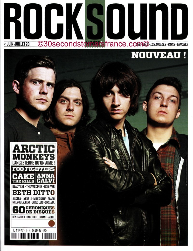 Jared Leto dans le ROCK SOUND FRANCAIS NUMBER 01 ! Rock_s10