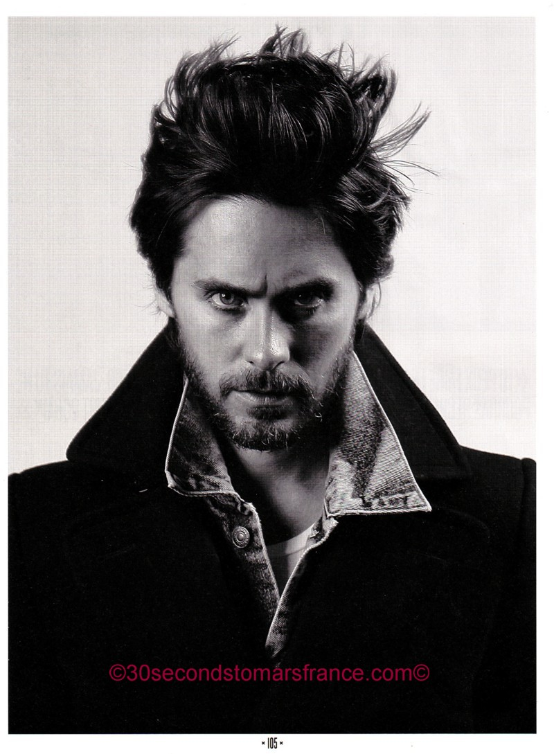 Jared Leto dans le ROCK SOUND FRANCAIS NUMBER 01 ! Rock_s12
