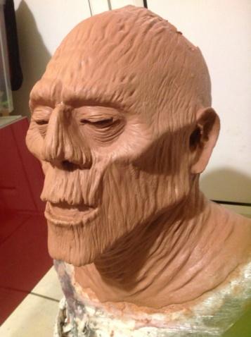 modelage de masques créatures 03110810