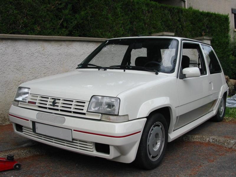 [ Renault 5 GT turbo de 86] réfection d'une super 5 GT TURBO 510